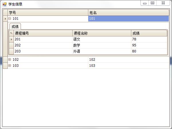 DevExpress.XtraGrid.GridControl绑定List笔记